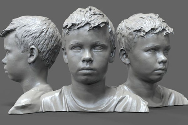 3D Face Scan 3dhub.gr