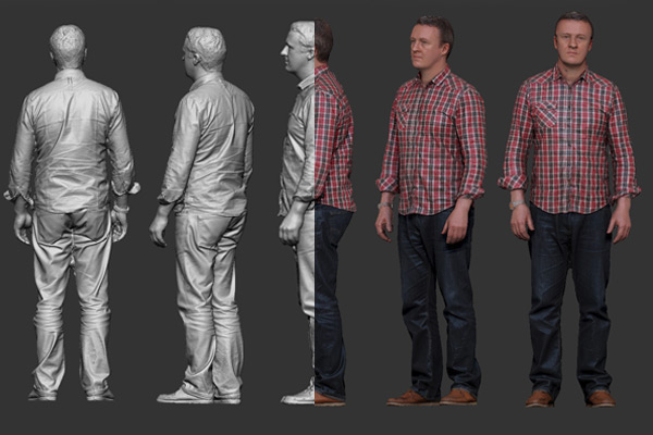 3D Full Body Scan 3dhub.gr
