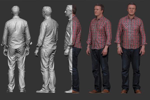 3D Full Body Scan 3dhub.gr