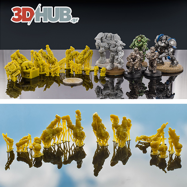 High resolution SLA 3D Prints 3DHUB.gr