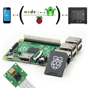 Raspberry Pi Β+ bundle 3dhub.gr