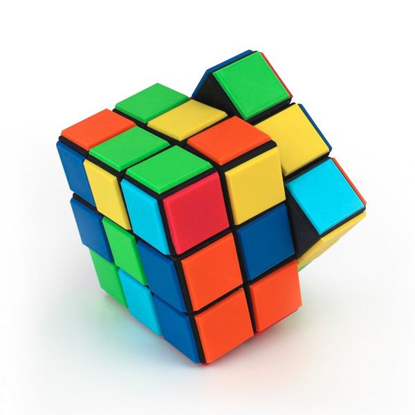 Z-ABS Filament Rubik's Cube 3dhub.gr