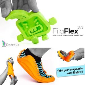 Ελαστικό νήμα για 3D εκτυπωτές Filaflex elastic 1.75mm 3dhub.gr