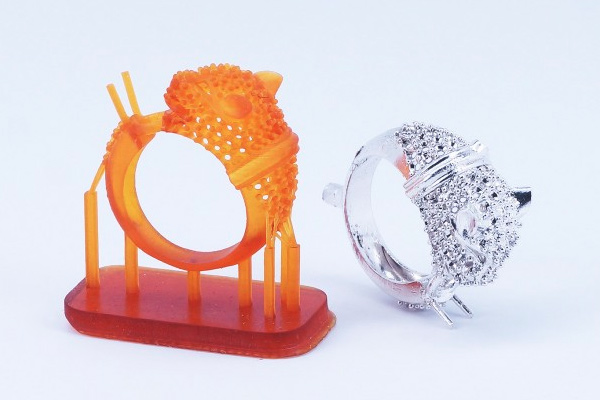 3D Printed Ring 3dhub.gr