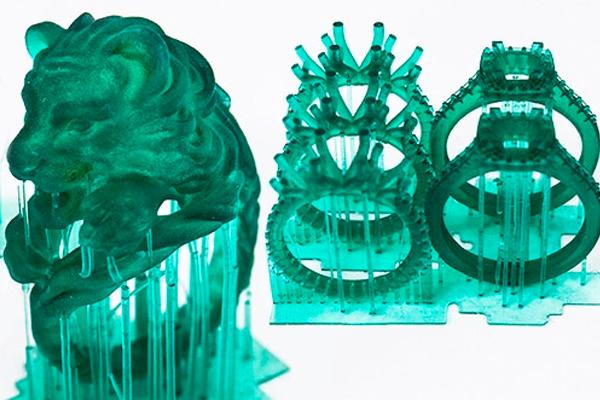 Fashion 3D Printed Rings 3dhub.gr