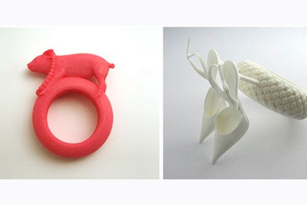 Fashion 3D Printed rings 3dhub.gr