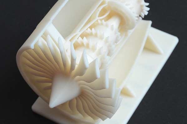 Jet Engine 3d print 3dhub.gr