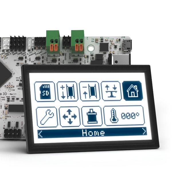 BQ Prusa Hephestos 2 elextronics 3DHUB.gr