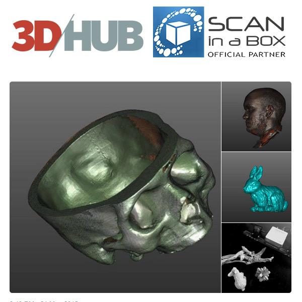 Scan in a Box 3D Scanner SIAB HD SLS 3DHUB.gr