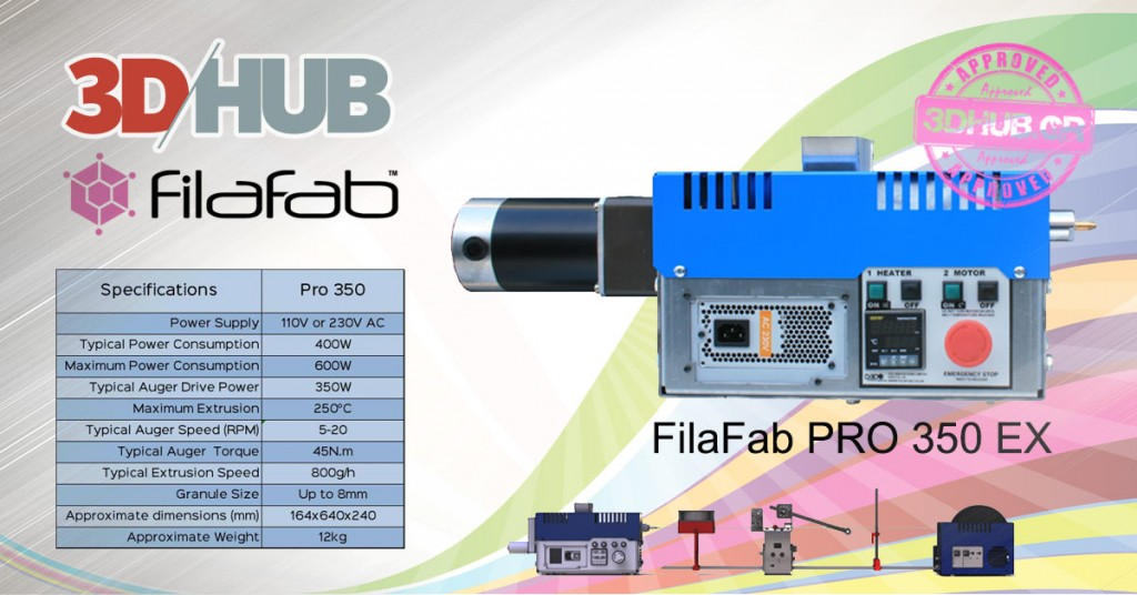 FilaFab PRO 350 EX Filament Extruder - 3DHUB.gr