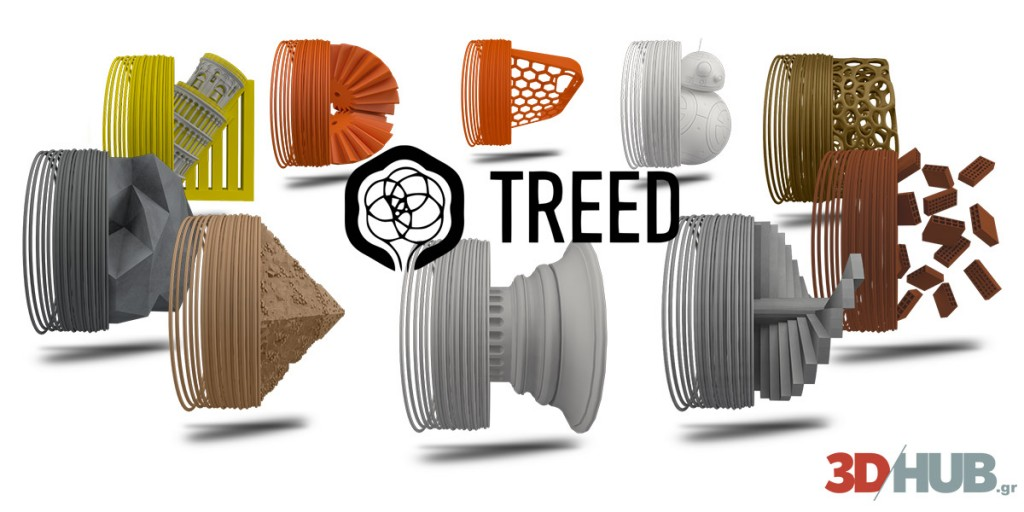 TreeD Filaments 3DHUB.gr Official Reseller