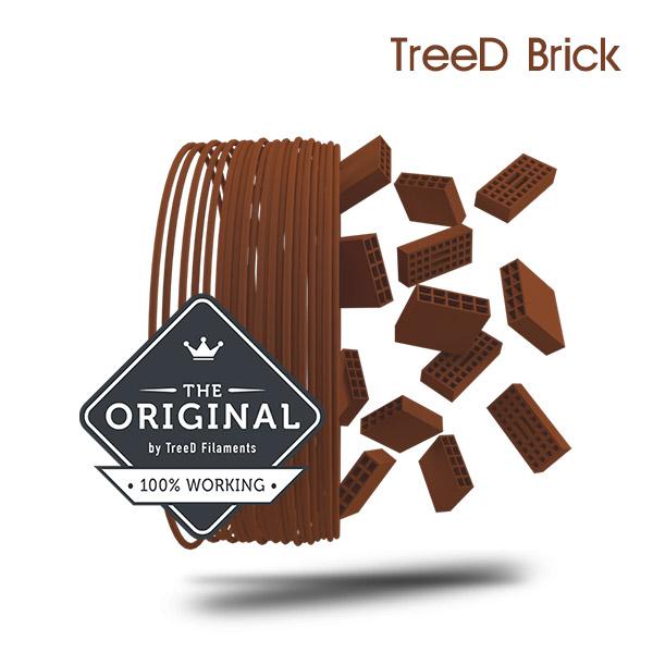 TreeD Brick Architectural Filament 3DHUB.gr