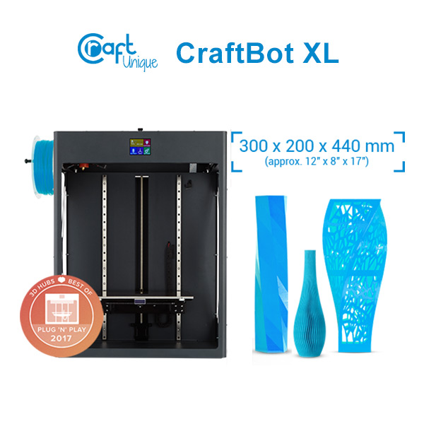 CraftBot XL 3D Printer 3DHUB.gr