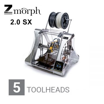 ZMORPH 2.0 SX Full Set 5 toolheads 3DHUB.gr