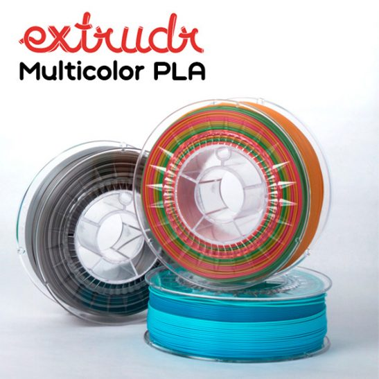 extrudr multicolor pla 3DHUB.gr