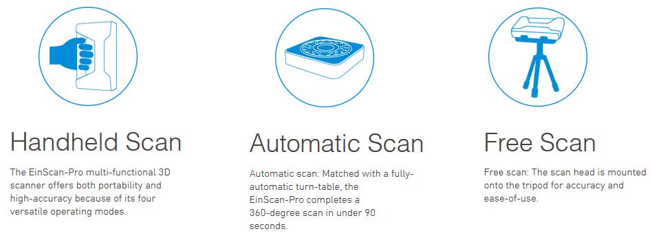 EinScan-SP 3D Scanner 3DHUB.gr