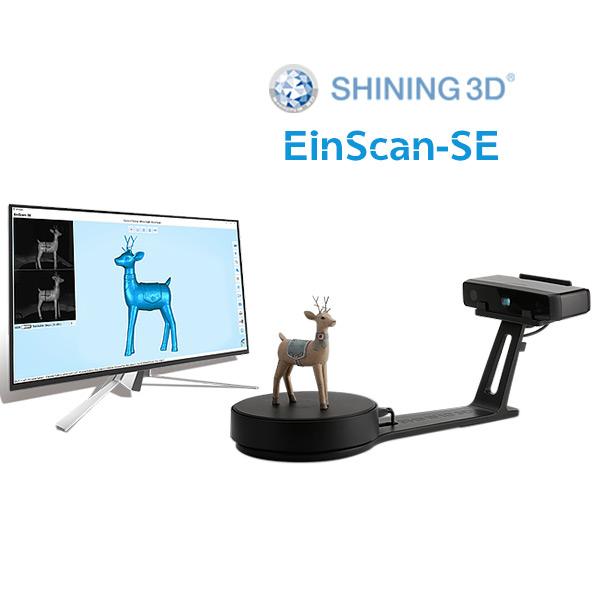 EinScan-SE 3D Scanner 3DHUB.gr