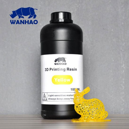 Wanhao SLA Resin Bottle 1lt 3DHUB.gr