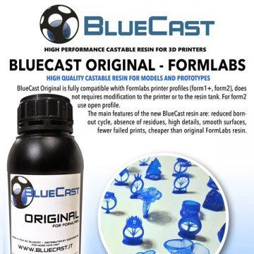 Blucast Original Formlabs Castable Resin 3DHUBgr