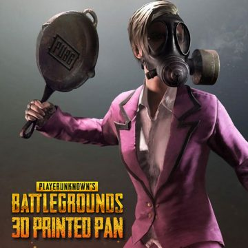 PUBG Player Unknown's Battleground 3D Printed Pan 3DHUB.gr