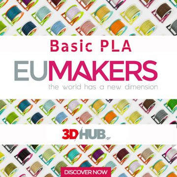 EUMakers Basic PLA filament 3DHUBgr