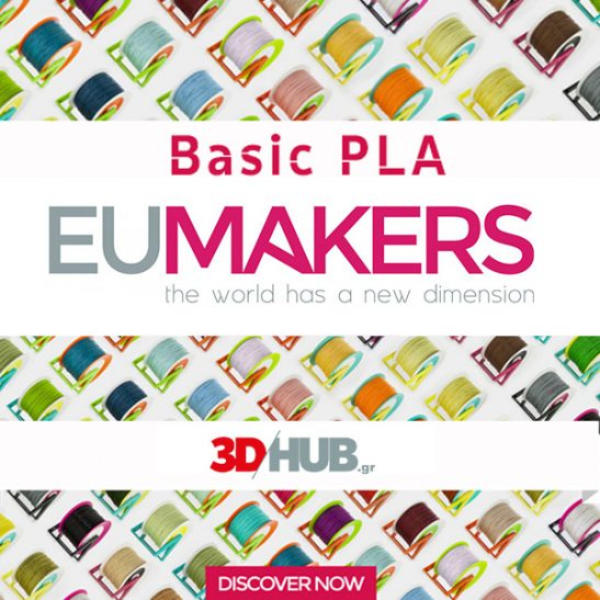 EUMakers Basic PLA filament 3DHUBgr