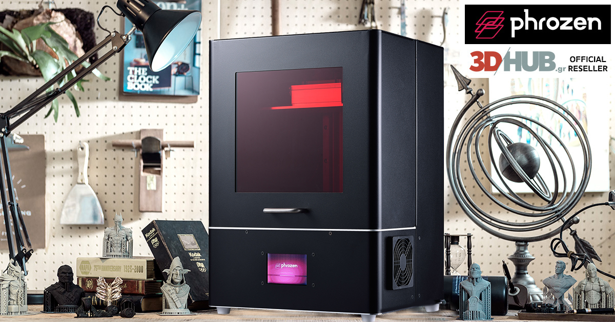 Phrozen Shuffle XL LCD 3D Printer - 3DHUB gr - Το πρώτο 3D printing HUB  στην Ελλάδα!