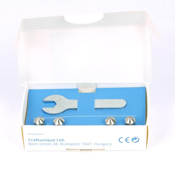 MK* Steel nozzle kit 3DHUBgr Craftbot
