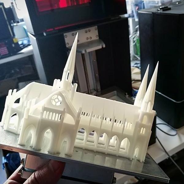Phrozen ABS like creamy white resin 3DHUBgr
