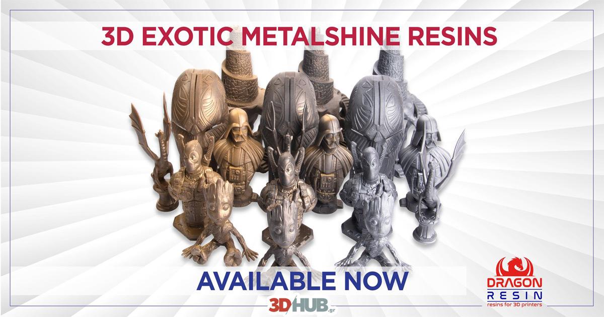 Dragin Resin Exotic Metalshine 3DHUB.gr
