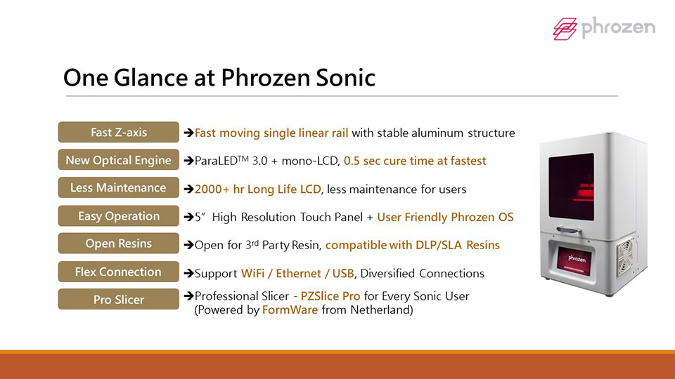 Phrozen Sonic 3D Printer 3DHUB.gr