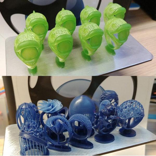 Bluecast Cr3ator LCD 3D Printer 3DHUB.gr