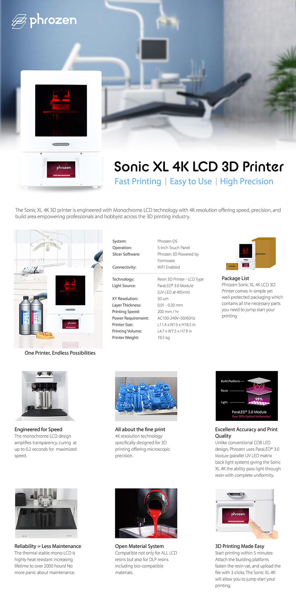 Phrozen Sonic XL 4k