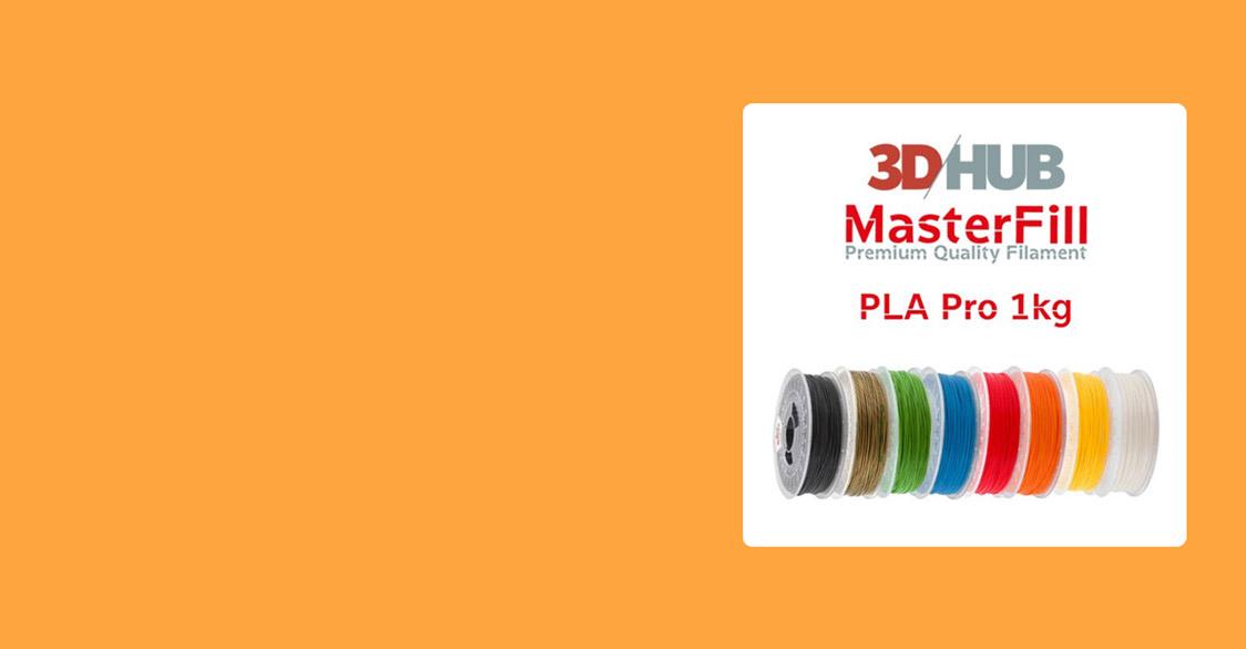 Masterfill Premium PLA 3DHUB.gr