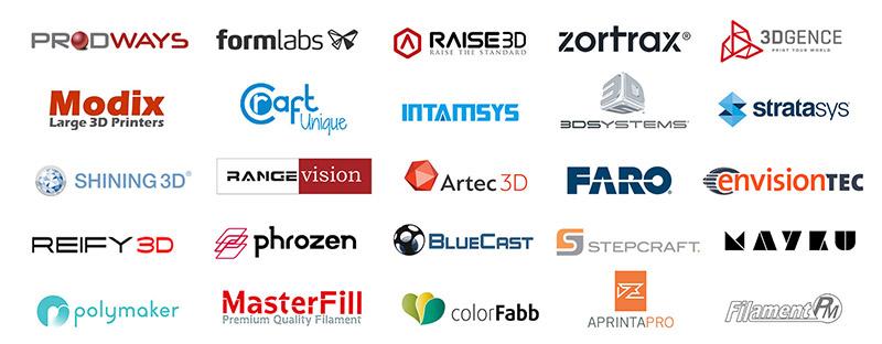 3DHUB Distributor Brands