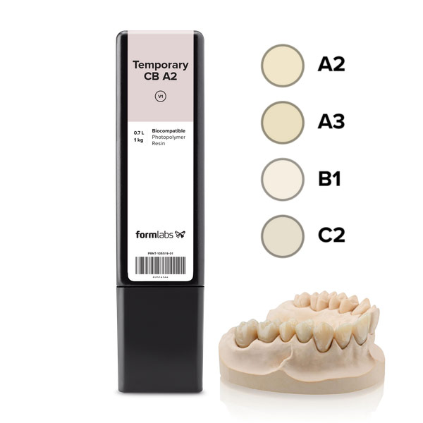 Formlabs Dental Temporary CB Resins 3DHUB.gr