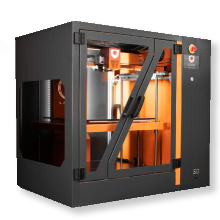 Atmat Galaxy Professional 3D Printer 3DHUB.gr
